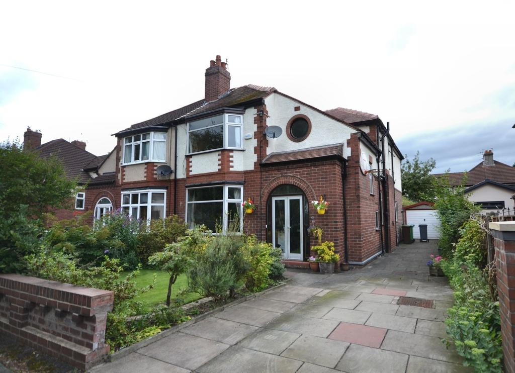 4 Bedrooms Semi Detached House for sale in Wingate Drive, Didsbury