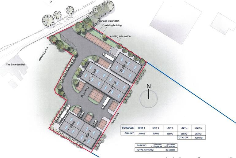 Plot Commercial for sale in The Old Cider Works, Bell Lane, Smarden, Ashford, Kent, TN27 9NT