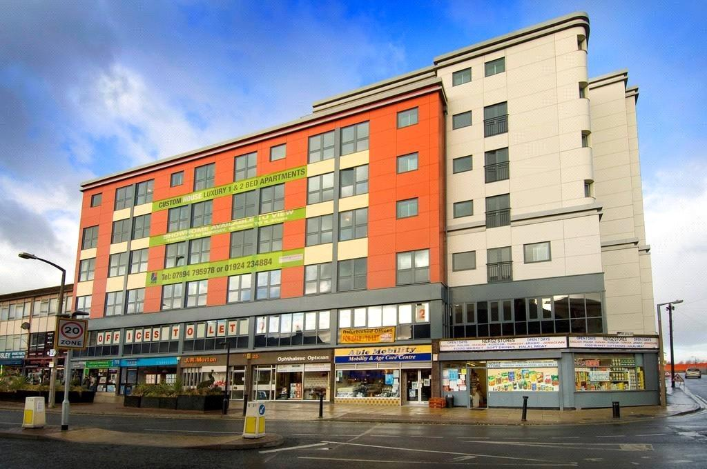 1 Bedroom Apartment Flat for sale in Flat 2 Custom House, The Springs, Wakefield, West Yorkshire