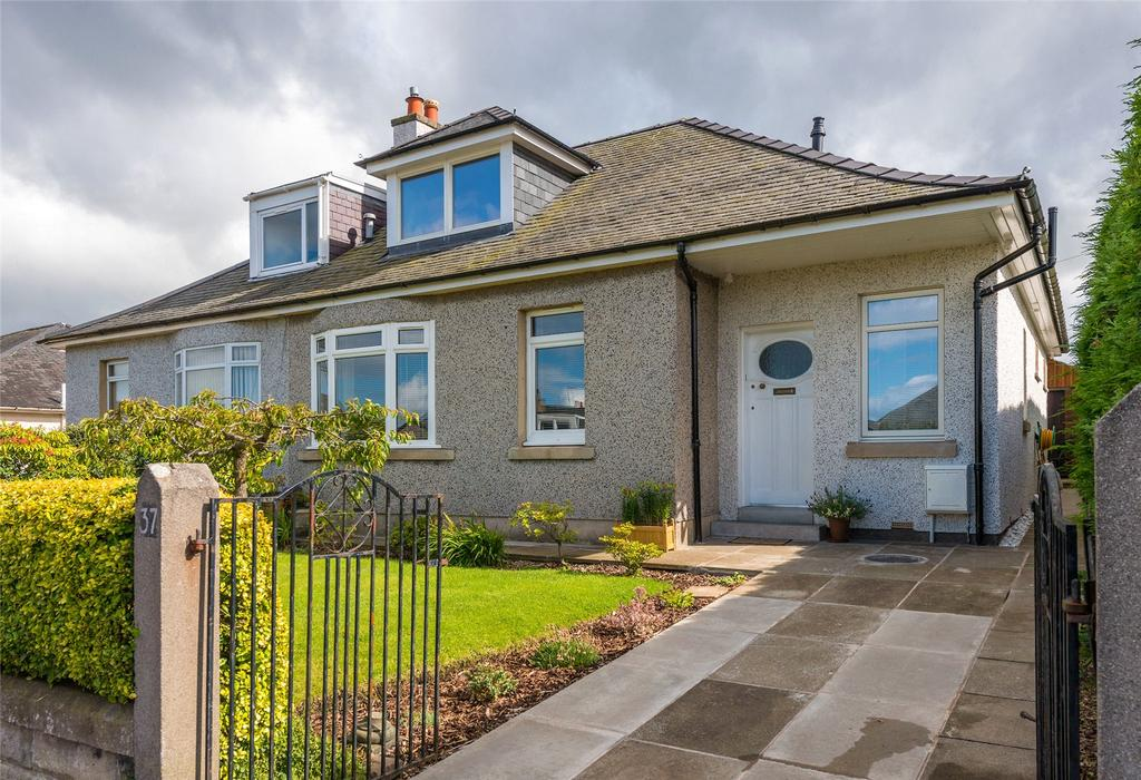 3 Bedrooms Semi Detached House for sale in Ulster Crescent, Edinburgh, Midlothian