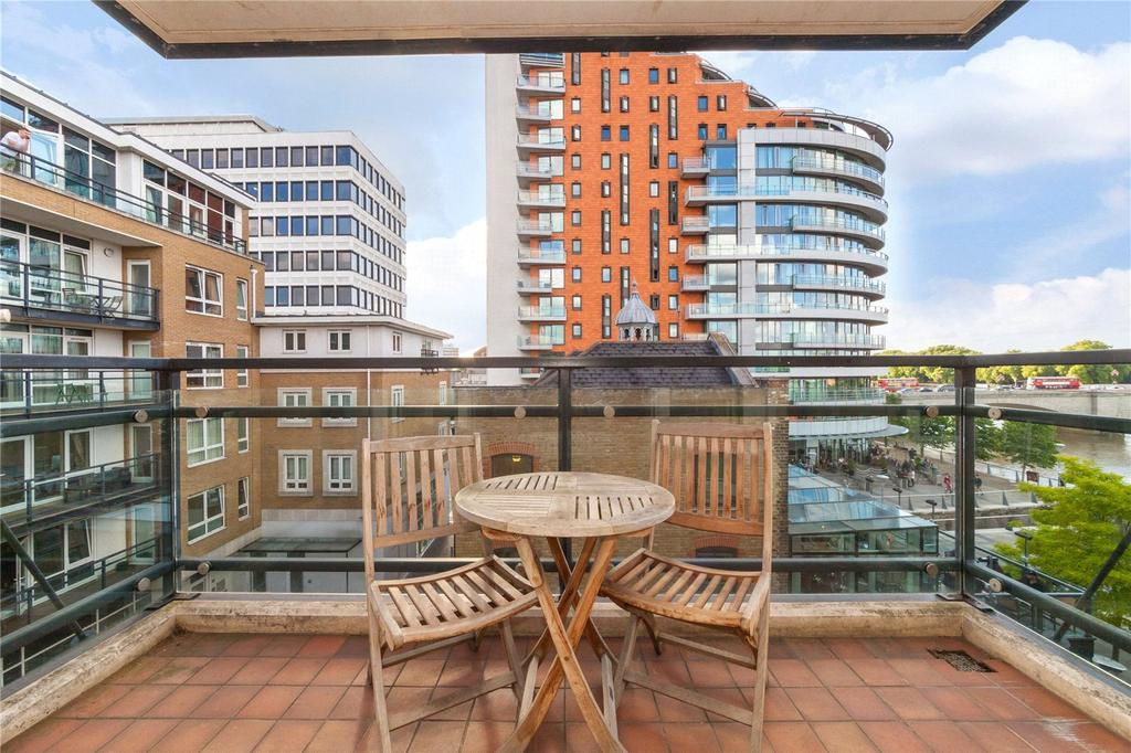 2 Bedrooms Flat for sale in Putney Wharf, 25 Brewhouse Lane, Putney, London