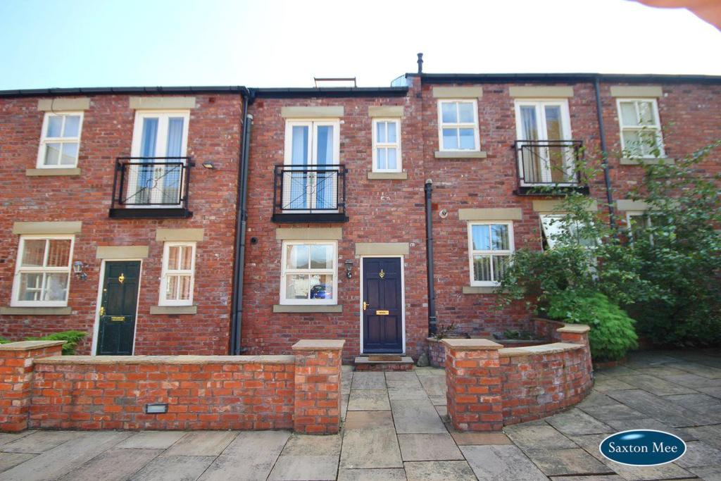 3 Bedrooms Terraced House for rent in The Chrome House, Greaves Court, Sheffield, S3 7EJ