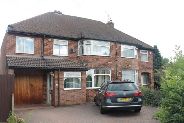 4 Bedrooms Semi Detached House for sale in Denmead Avenue, Wigston Fields, Leicester, LE18