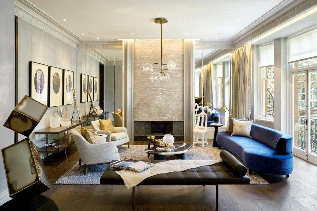 3 Bedrooms Flat for sale in South Street, Mayfair, London, W1K