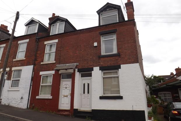 3 Bedrooms End Of Terrace House for sale in Grundy Street, Bobbers Mill, Nottingham, NG7