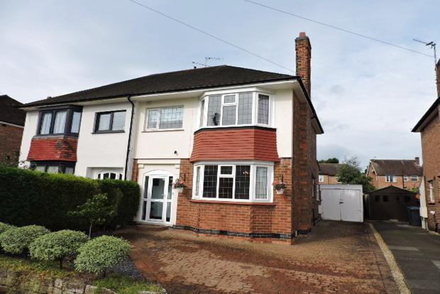 3 Bedrooms Semi Detached House for sale in Burnside Road, West Bridgford, Nottingham, NG2