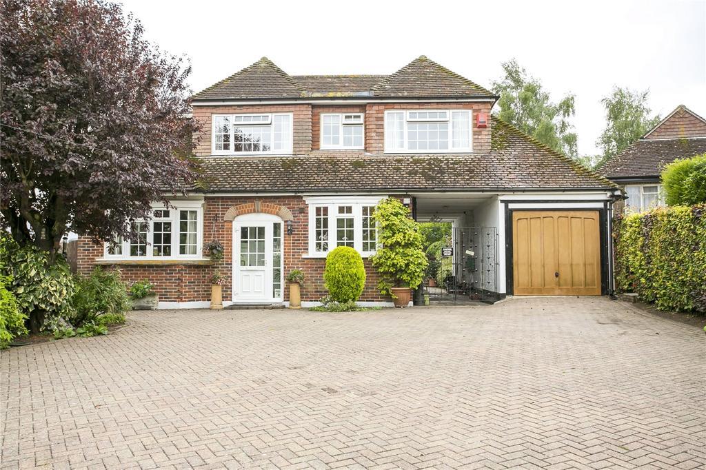 4 Bedrooms Detached House for sale in Calfstock Lane, Farningham, Kent