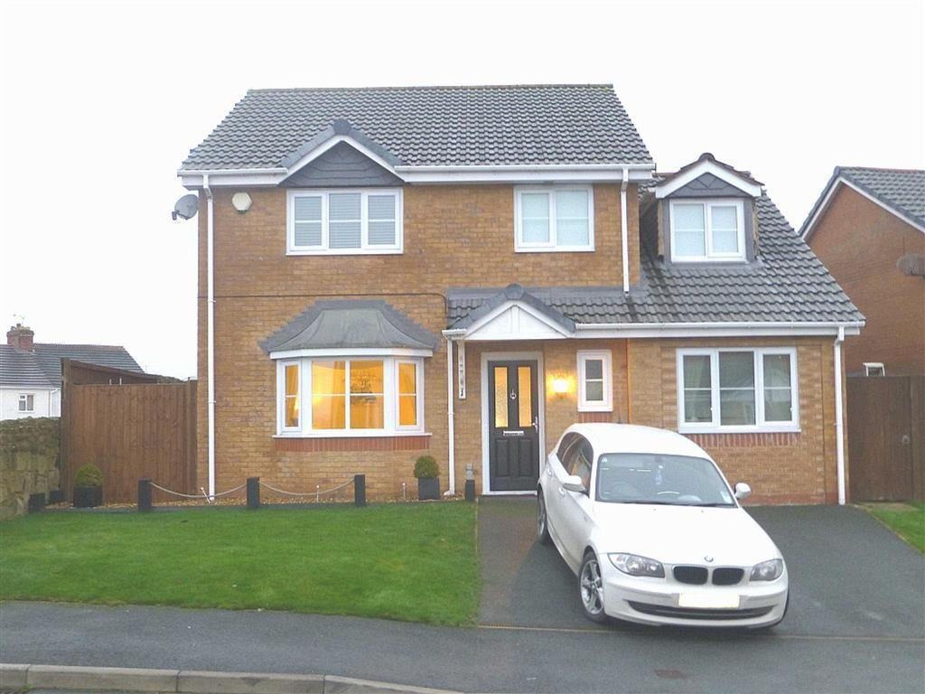 4 Bedrooms Detached House for sale in Broughton Heights, Pentre Broughton, Wrexham