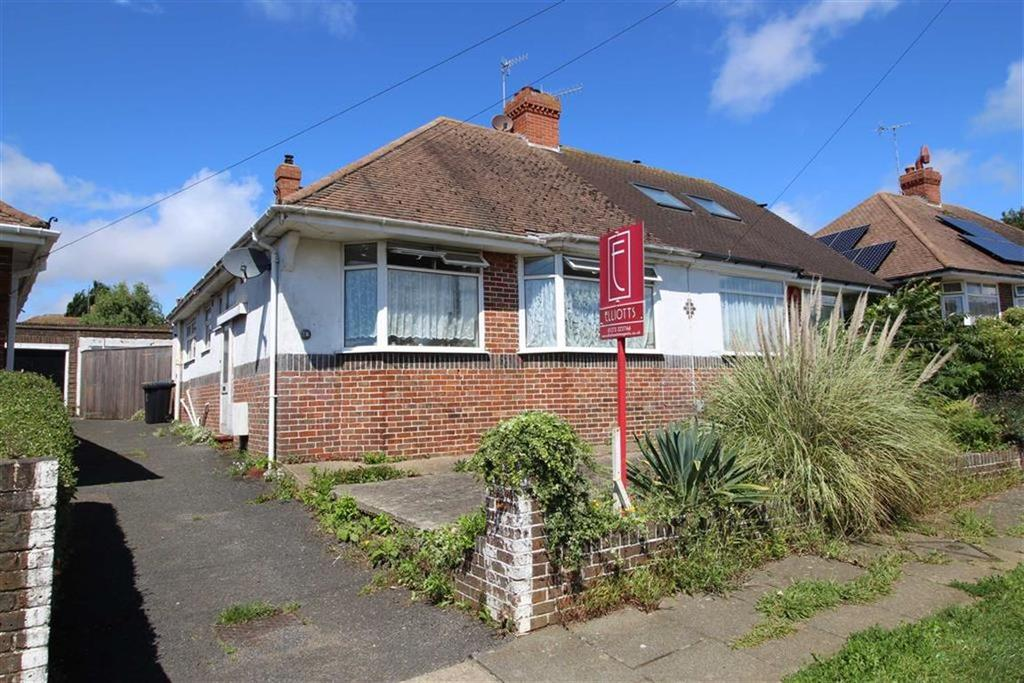 2 Bedrooms Semi Detached Bungalow for sale in Meadway Crescent, Hove, East Susesx