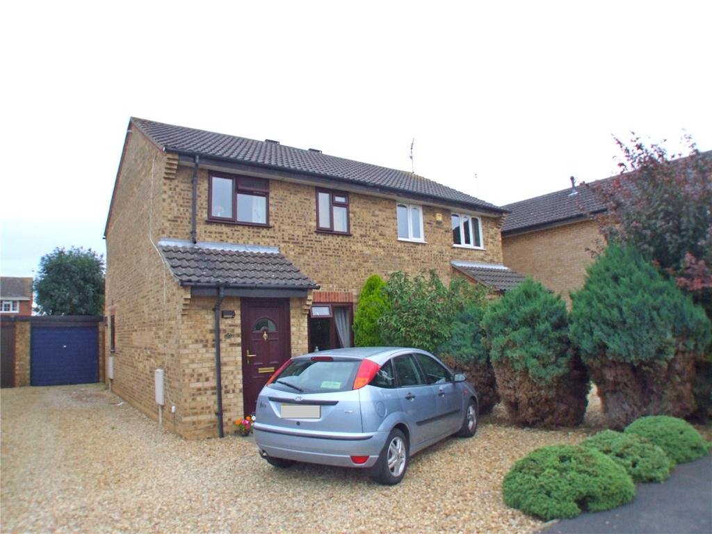 3 Bedrooms Semi Detached House for sale in Fraser Close, Deeping St. James, Peterborough, PE6