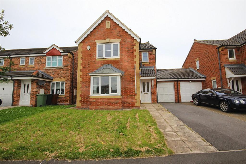 3 Bedrooms Detached House for sale in Sedgewick Close, Hartlepool