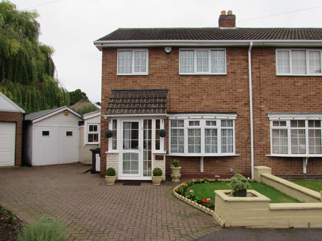 3 Bedrooms Semi Detached House for sale in Leys Wood Croft, Birmingham