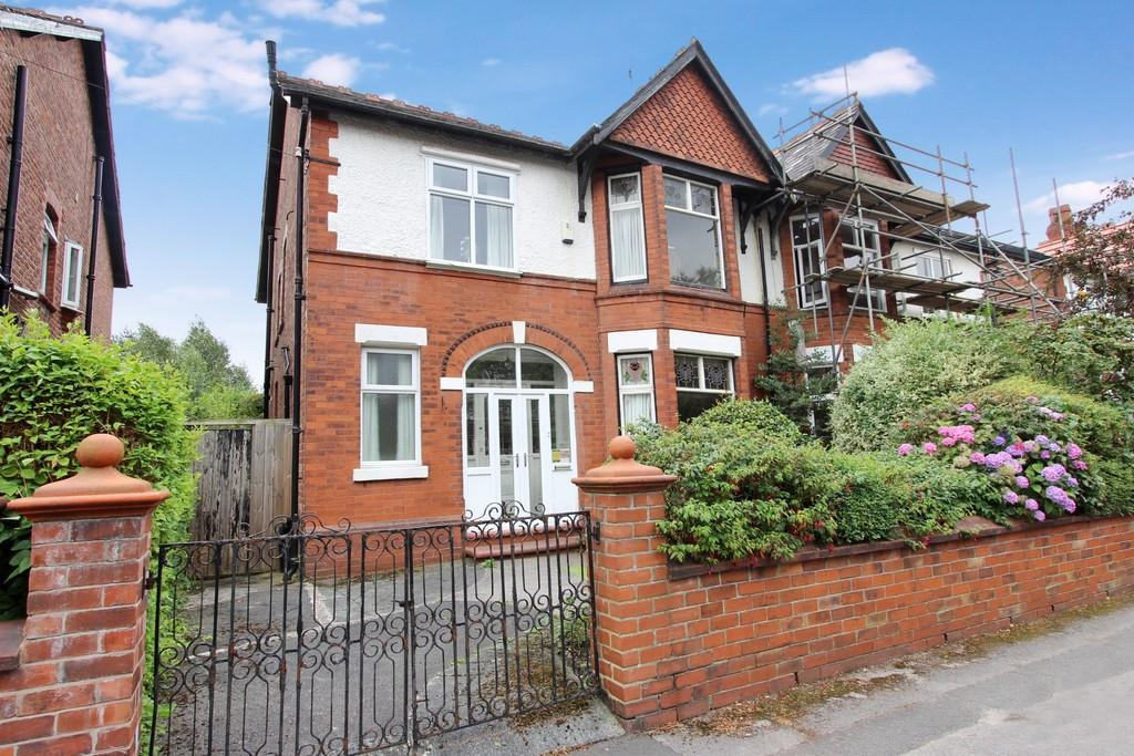 4 Bedrooms Semi Detached House for sale in Norman Road, Heaton Moor