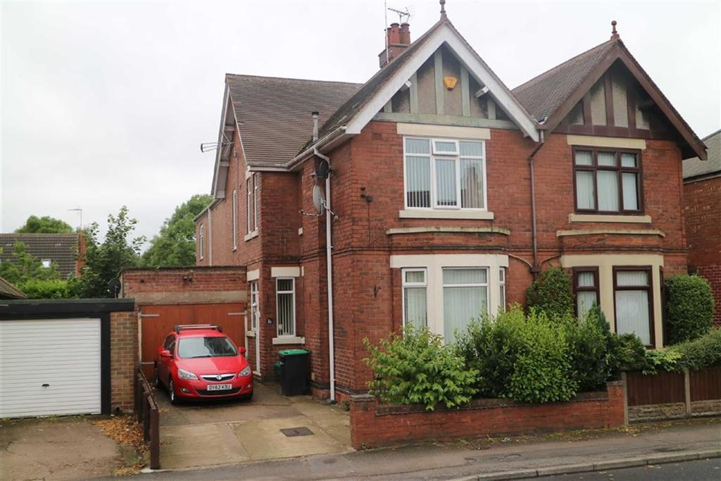 3 Bedrooms Semi Detached House for sale in Station Road, Sutton In Ashfield, Notts, NG17