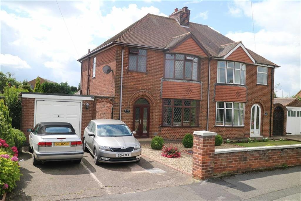 2 Bedrooms Semi Detached House for sale in Hillsborough Avenue, Sutton In Ashfield, Notts, NG17