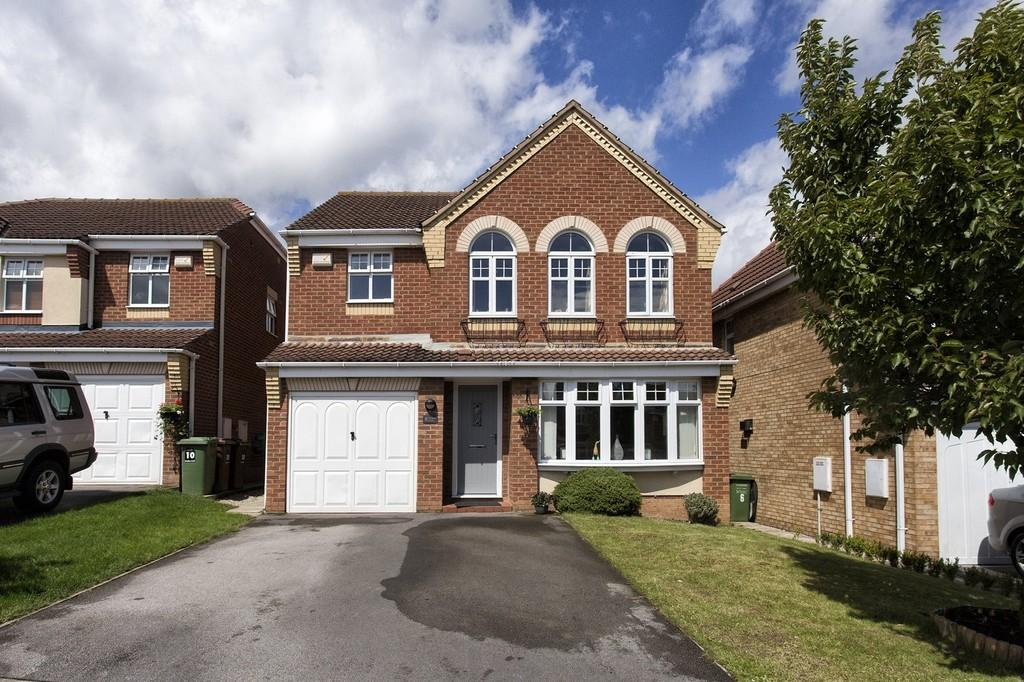 4 Bedrooms Detached House for sale in Heather Croft, Sharlston Common