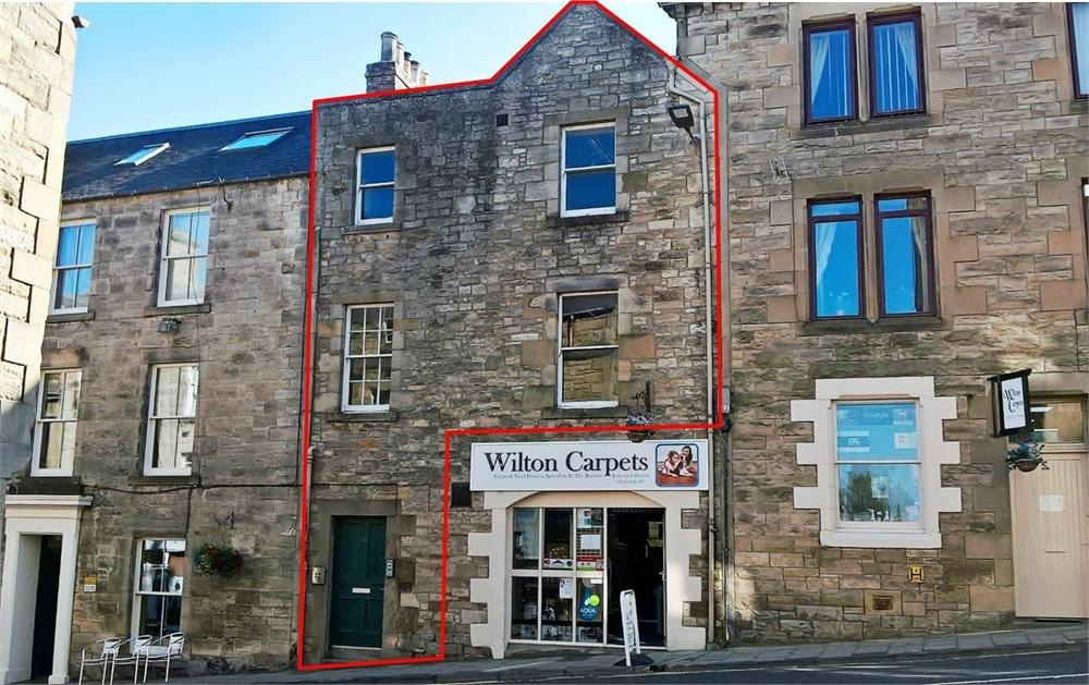 3 Bedrooms Terraced House for sale in OFFICE/ RESIDENTIAL CONVERSION, 10 Exchange Street, Jedburgh, Roxburghshire, Scottish Borders