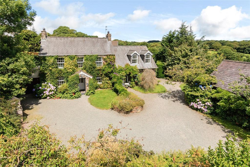 5 Bedrooms Detached House for sale in Nr Amroth, Narberth, Pembrokeshire, SA67