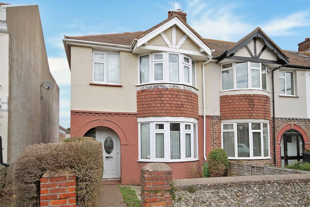 3 Bedrooms End Of Terrace House for sale in Cottenham Road, Worthing BN11 2JJ