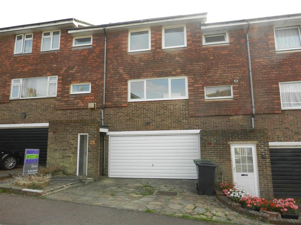 4 Bedrooms Terraced House for sale in De Cham Road, St. Leonards-On-Sea