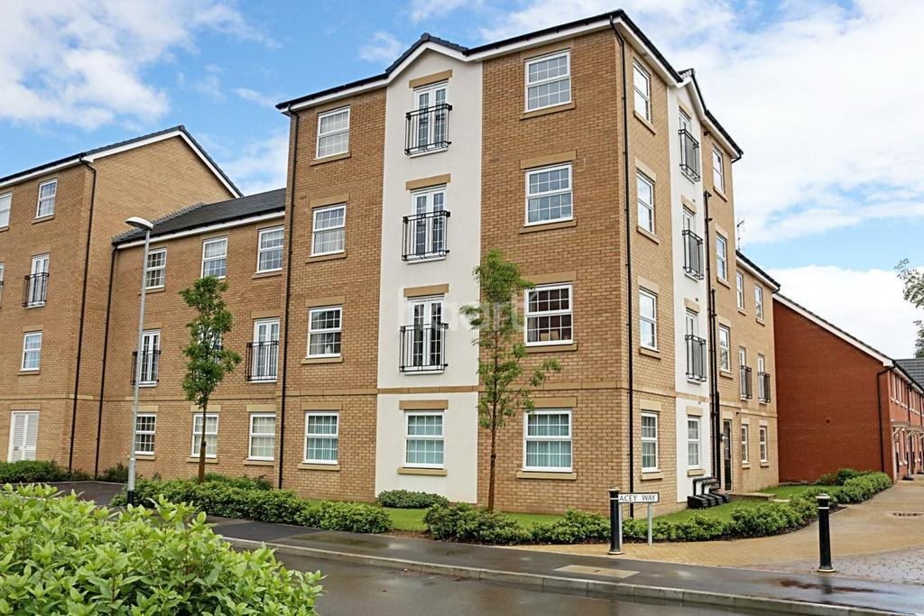 2 Bedrooms Flat for sale in Pacey Way, Grantham