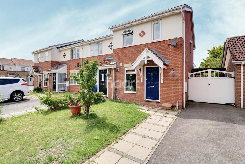 2 Bedrooms End Of Terrace House for sale in Cole Avenue, Chadwell St Mary, Grays