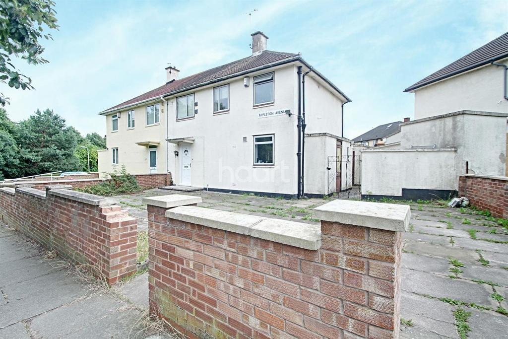3 Bedrooms Semi Detached House for sale in Appleton Avenue, Leicester