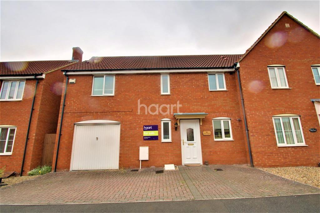 3 Bedrooms Semi Detached House for sale in Dovai Drive, Bridgwater