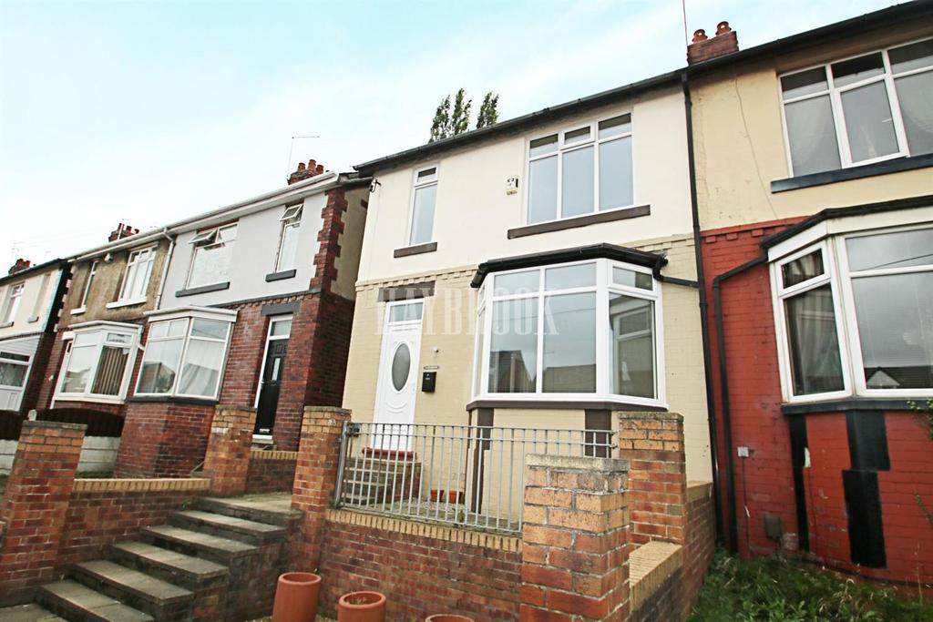 3 Bedrooms Semi Detached House for sale in Upper Sheffield Road, Barnsley