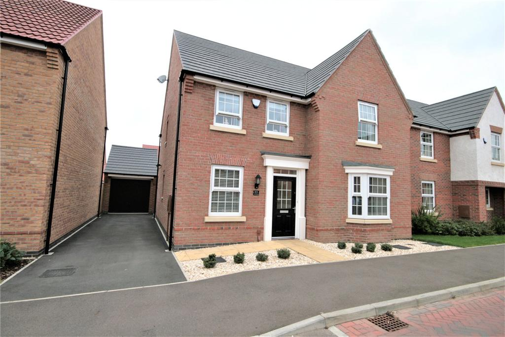 4 Bedrooms Detached House for sale in Livia Avenue, North Hykeham, LN6