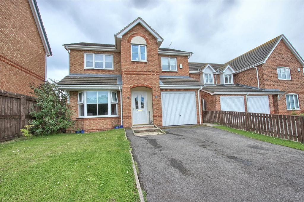 4 Bedrooms Detached House for sale in Applethwaite Gardens, Skelton