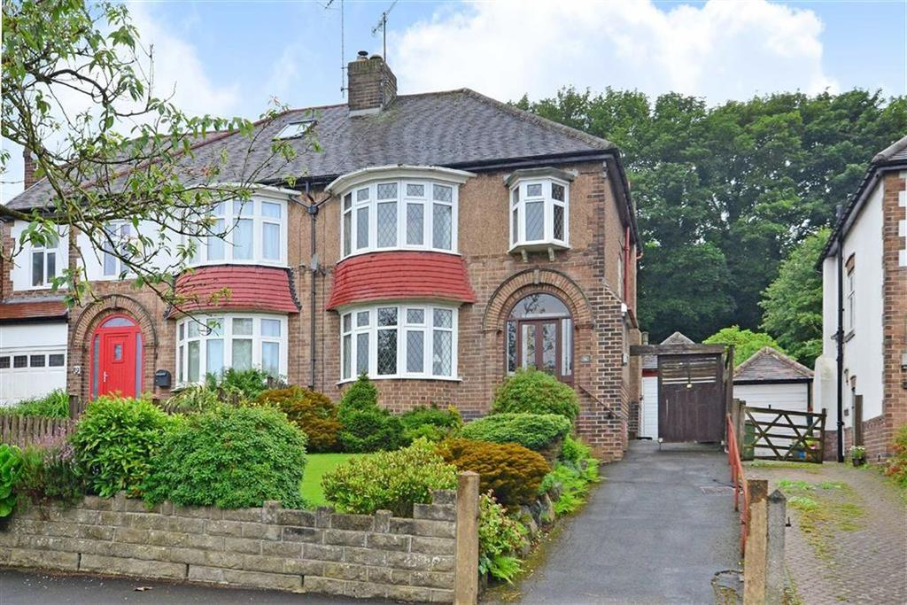 3 Bedrooms Semi Detached House for sale in 14, Whitfield Road, Fulwood, Sheffield, S10