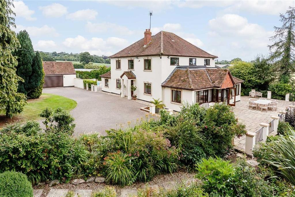 4 Bedrooms Detached House for sale in Sidbrook, West Monkton, Taunton, Somerset, TA2