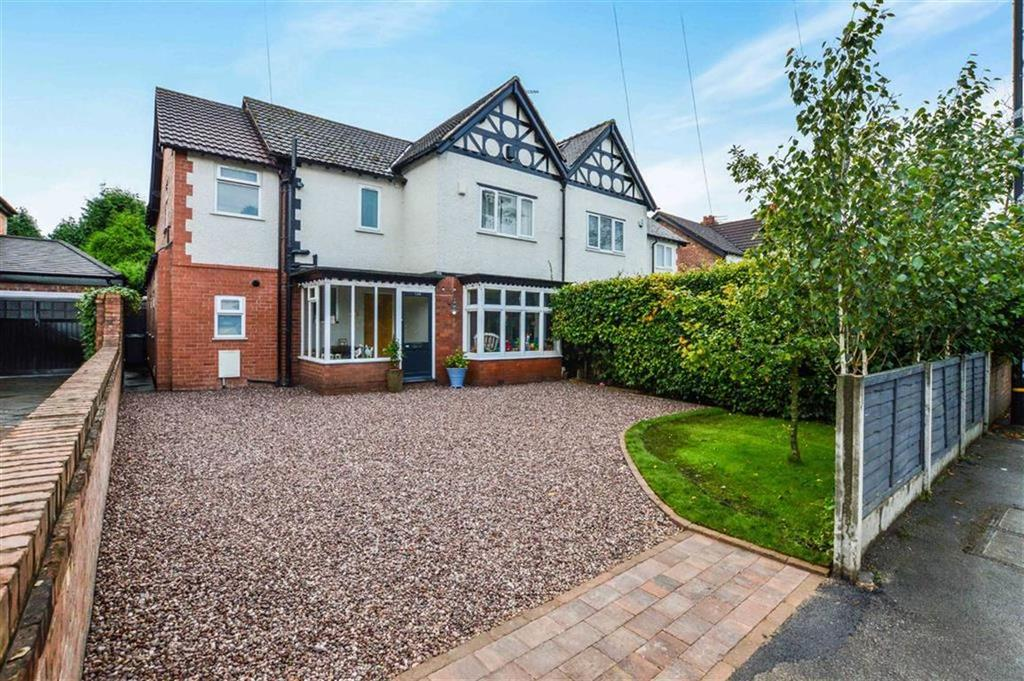 4 Bedrooms Semi Detached House for sale in Hale Road, Hale, Cheshire, WA15