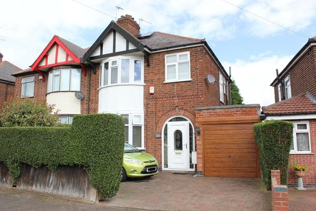 3 Bedrooms Semi Detached House for sale in Petworth Drive, Western Park, Leicester, LE3