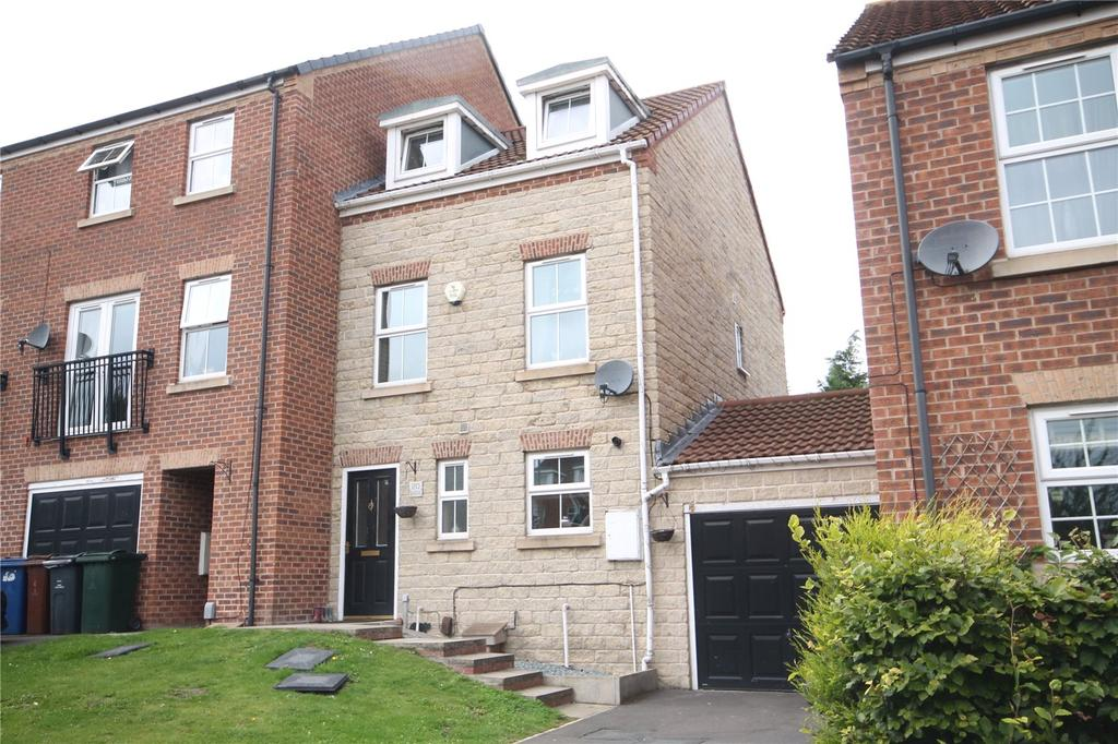 3 Bedrooms End Of Terrace House for sale in Chestnut Crescent, Kendray, Barnsley, S70