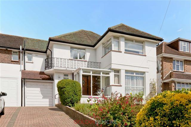 4 Bedrooms Semi Detached House for sale in Shirley Drive, Hove