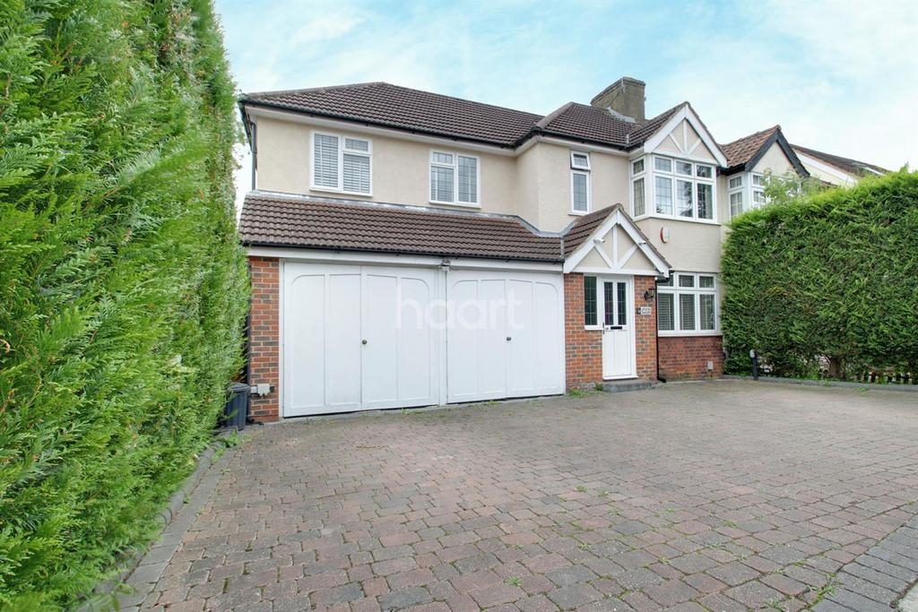 5 Bedrooms Semi Detached House for sale in Northumberland Avenue, Hornchurch