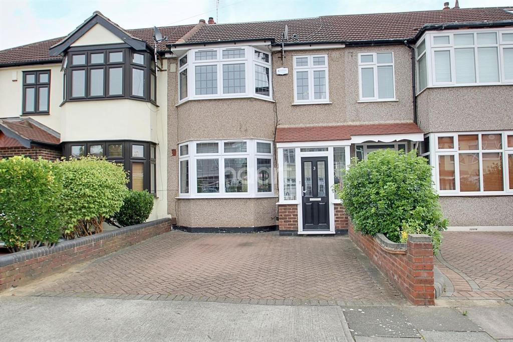 4 Bedrooms Terraced House for sale in Amery Gardens, Gidea Park