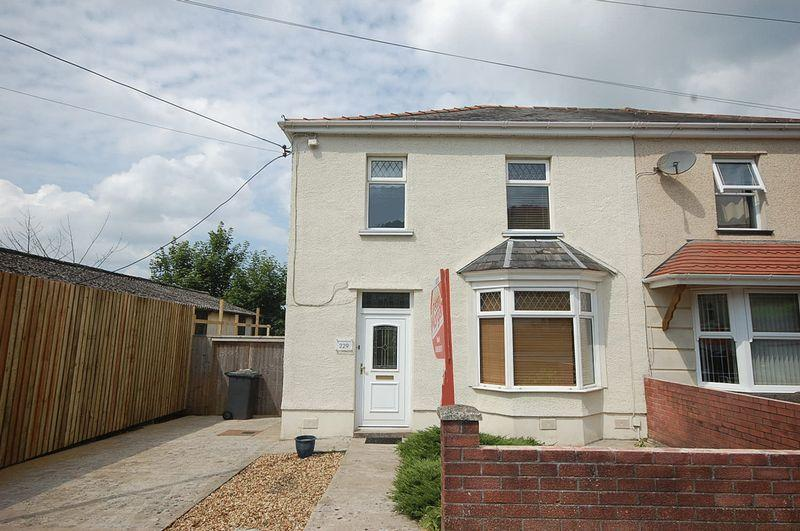3 Bedrooms Semi Detached House for sale in 229 Old Road, Briton Ferry, Neath, SA11 2ES