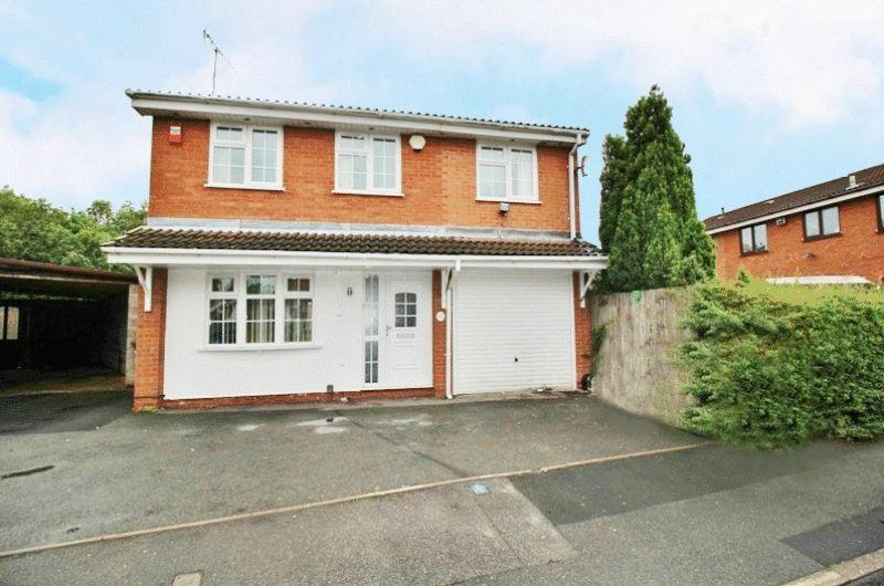 4 Bedrooms Detached House for sale in Sheaves Close, Sedgemoor Park, Bilston