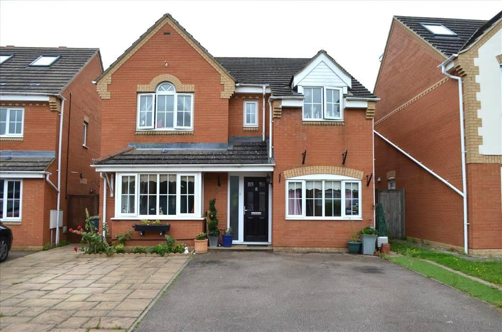 4 Bedrooms Detached House for sale in Snowdrop Walk, Biggleswade, SG18