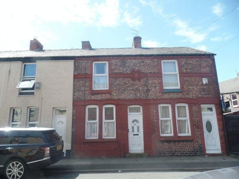2 Bedrooms End Of Terrace House for sale in 45 Smollett Street, Bootle