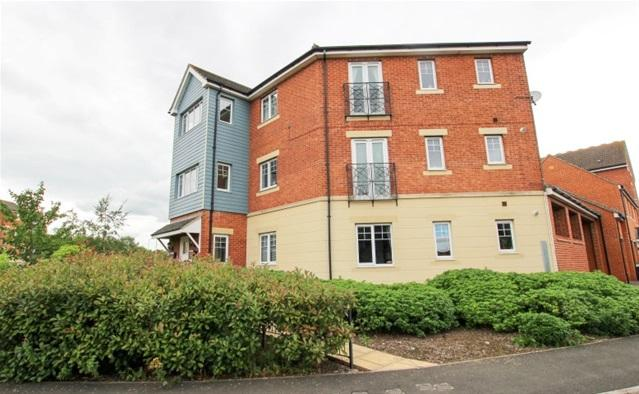 2 Bedrooms Flat for sale in Riverside Close, Bridgwater