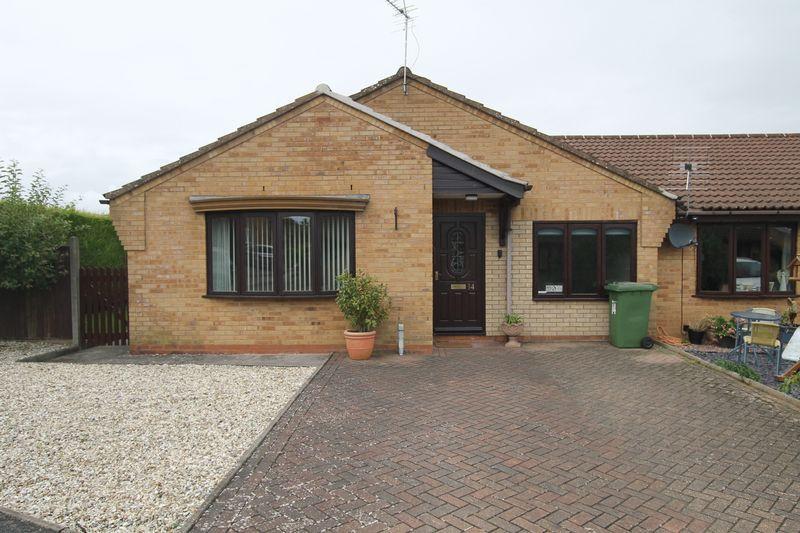 2 Bedrooms Semi Detached Bungalow for sale in BROMYARD