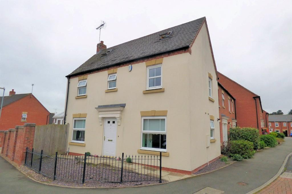 5 Bedrooms Detached House for sale in Drovers Close, Uttoxeter