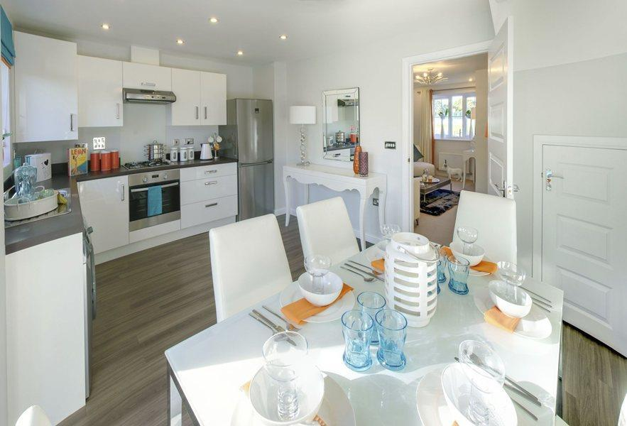 3 Bedrooms Semi Detached House for sale in Plot 232, Saxon Fields, Cullompton