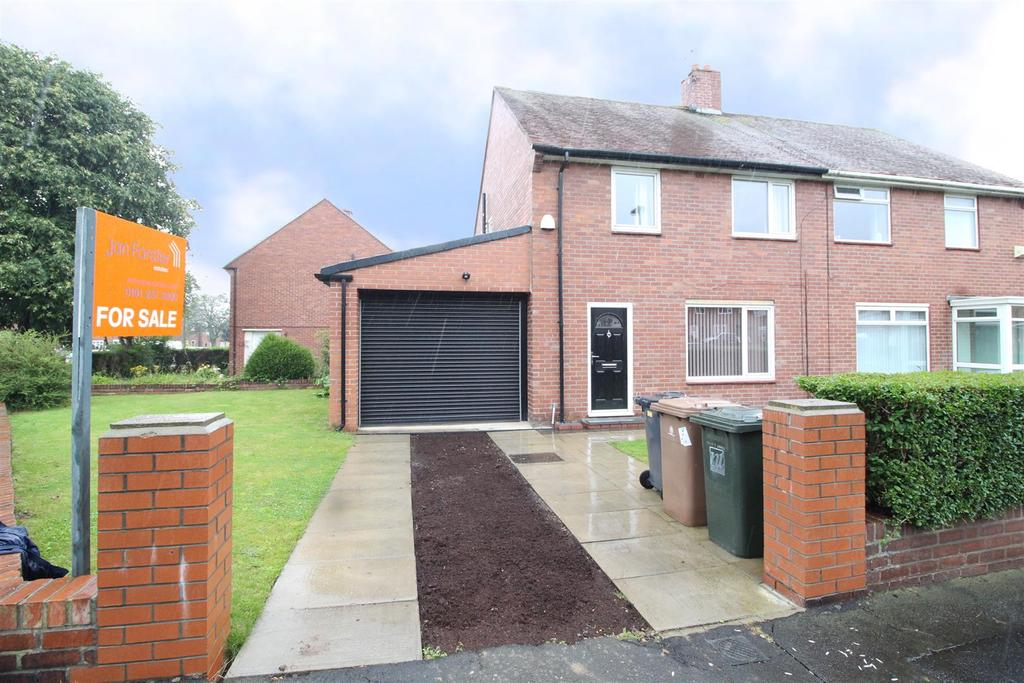 3 Bedrooms Semi Detached House for sale in Netherton Avenue, North Shields