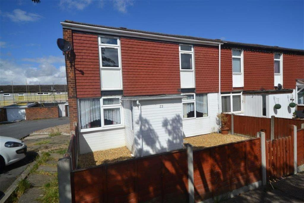 2 Bedrooms End Of Terrace House for sale in Brendon Way, Grove Farm, Nuneaton