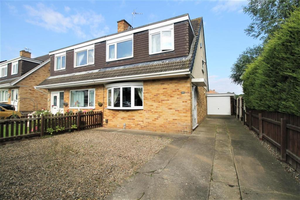 3 Bedrooms Semi Detached House for sale in Verwood Close, Stockton-On-Tees